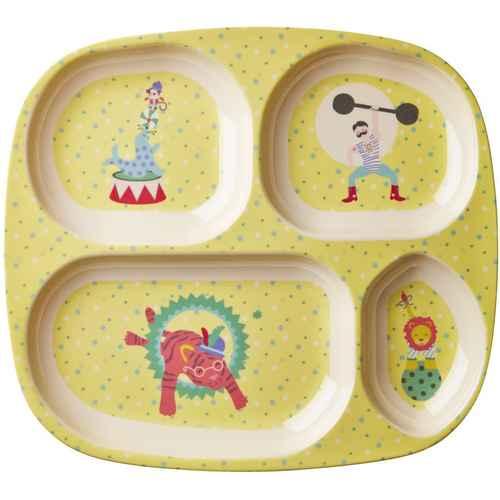 Rice Kids 4 Room Melamine Plate with Boy Circus Print  sc 1 st  FineNordic & Kids Tableware - Online Shop