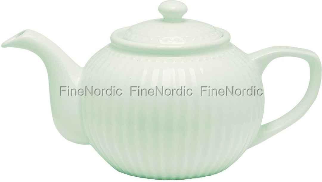 Greengate Espressotassen greengate teapot pale green