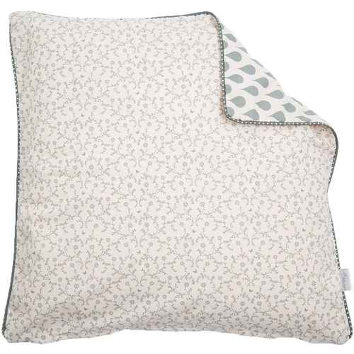 A u maison cotton claire ginger red price per meter for Au maison cushion