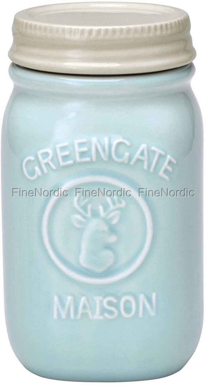 GreenGate Jar Maison Mint H 15 cm