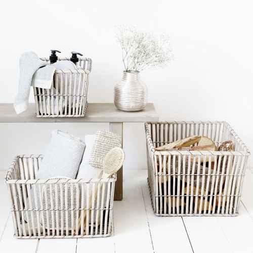 House Doctor Basket Nest Rectangular   Small