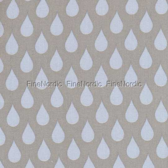 A u maison oilcloth teardrops big light blue toffee for Au maison oilcloth