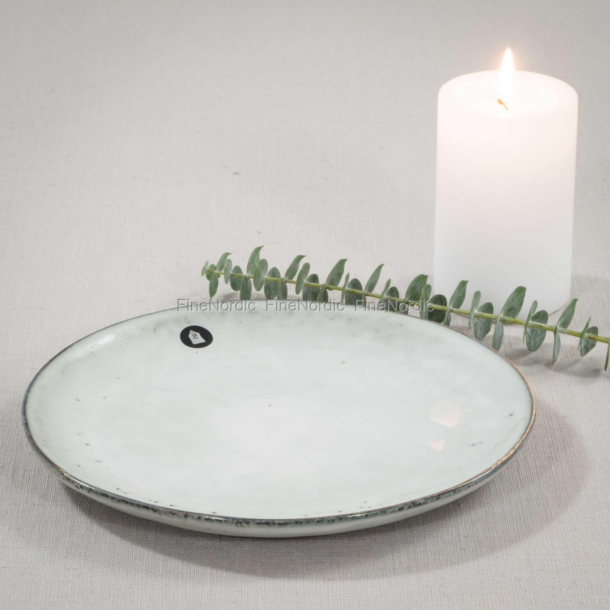 Ultramoderne House Doctor Dessert Plate Rustic - Ø 20,5 cm IR-53