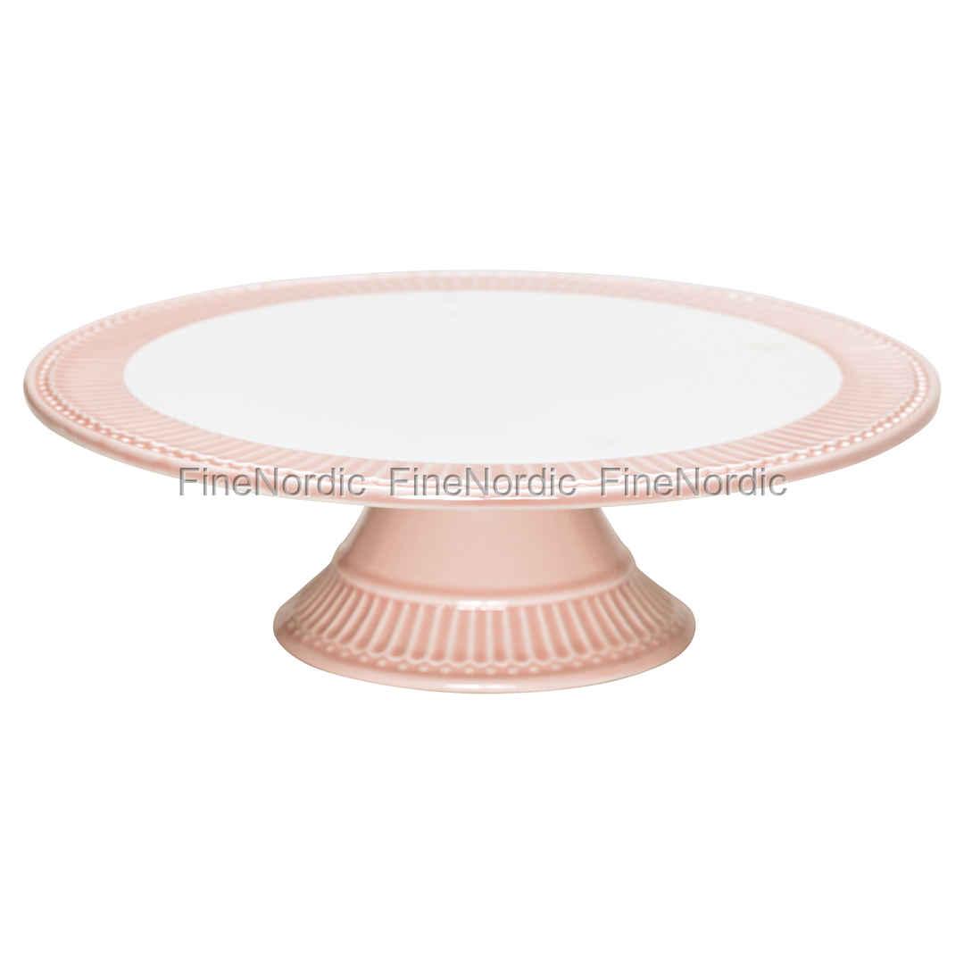 Greengate Espressotassen greengate stoneware cake plate pale pink
