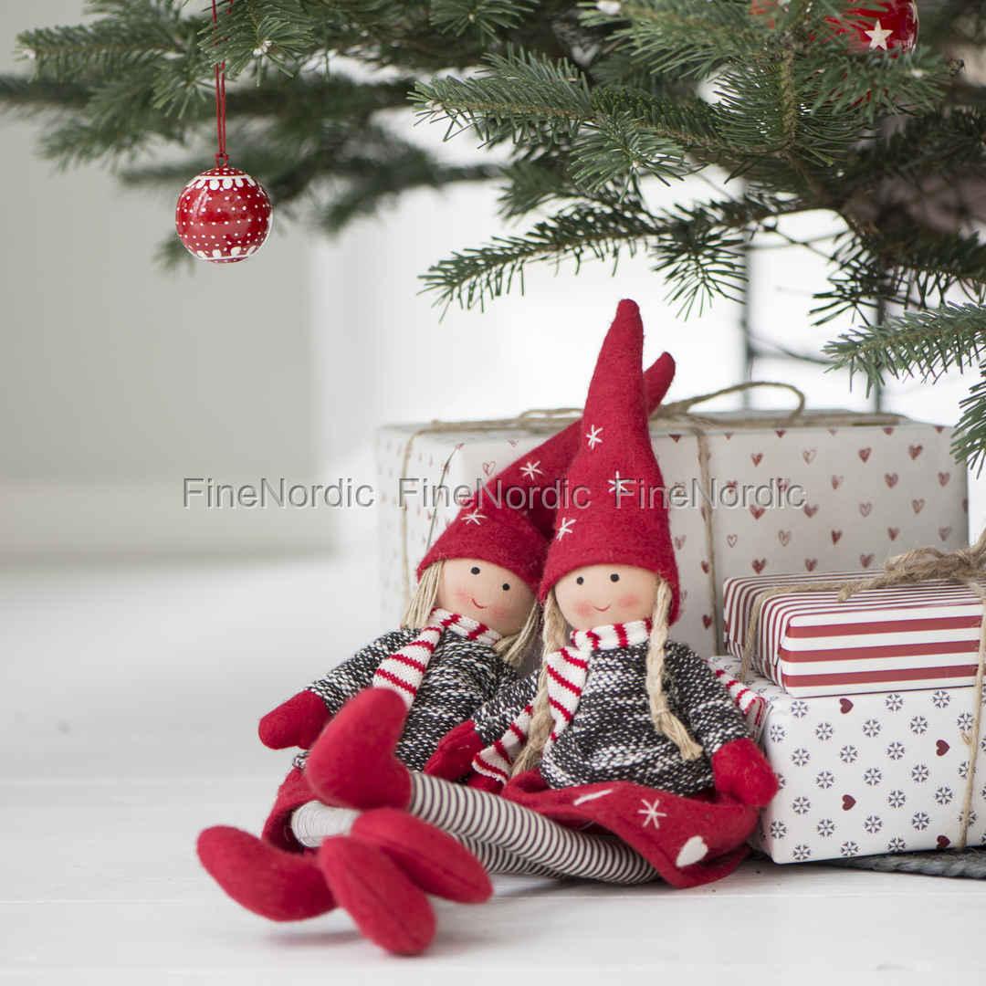 Ib Laursen Christmas Girl and Boy Sitting My Nostalgic Christmas Set ...