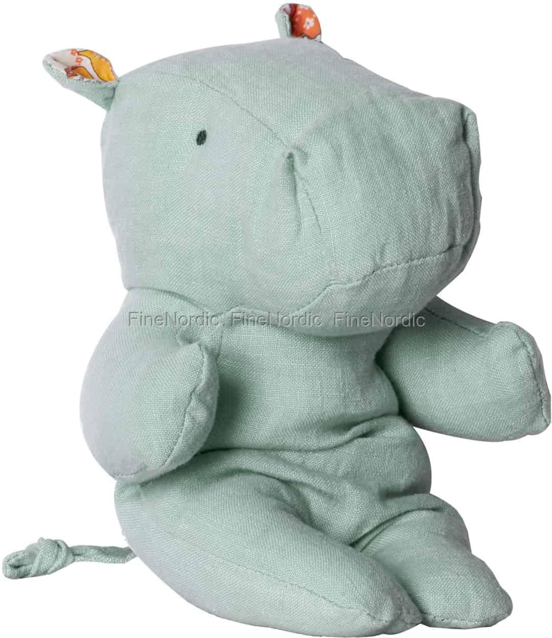 Maileg Safari Friends - Little Hippo - Blue