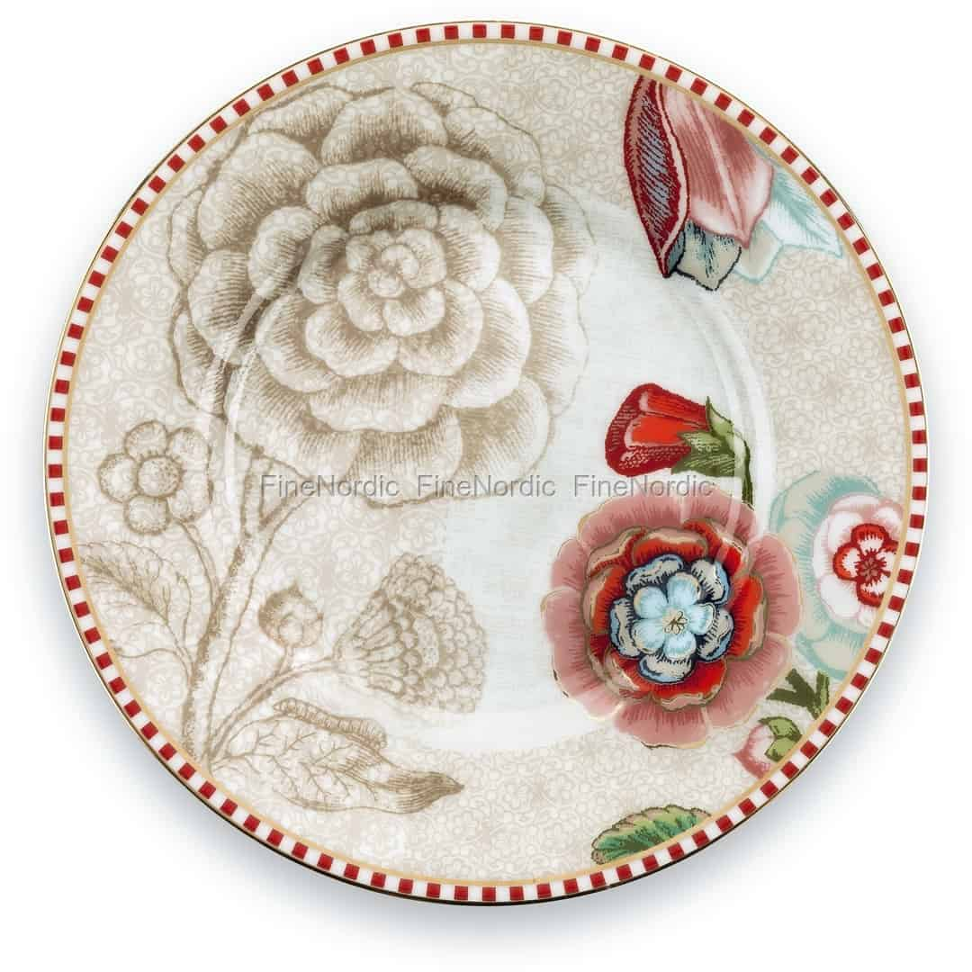 0316bf202a0 Pip Studio Spring to Life Petit Four Plate 12 cm Off White. 5.95 €