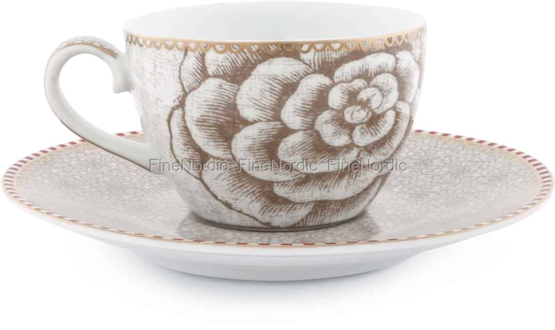 be73a63cd72 Pip Studio Spring to Life Espresso Cup & Saucer Off White. Save