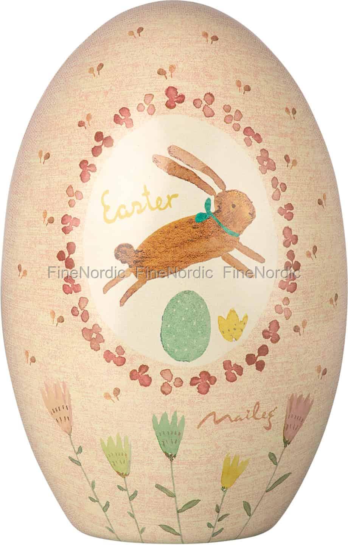 Cute Easter Egg Pink with Hearts Purse Bag Hanger Holder Hook