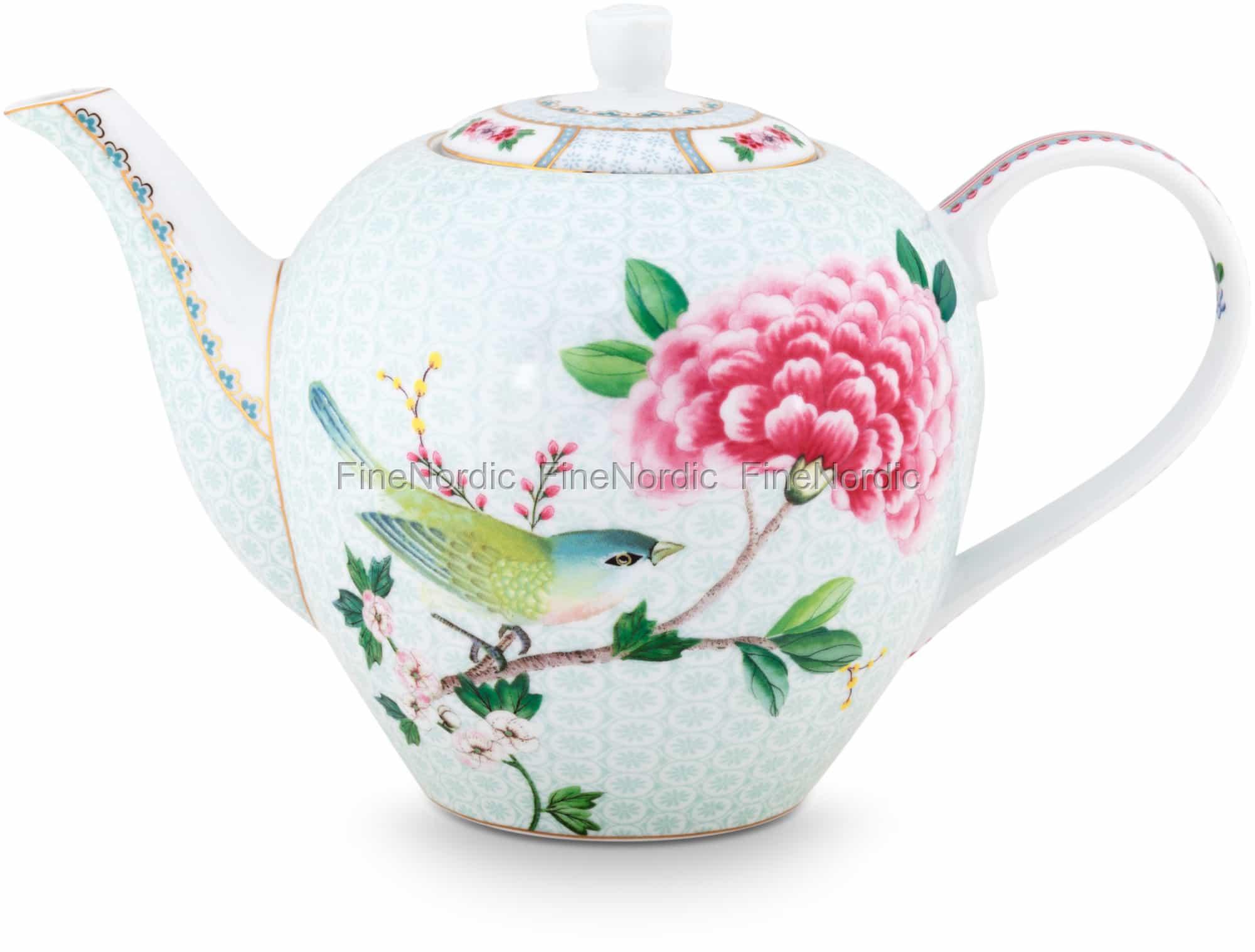 Pip Studio Teapot Large Blushing Birds