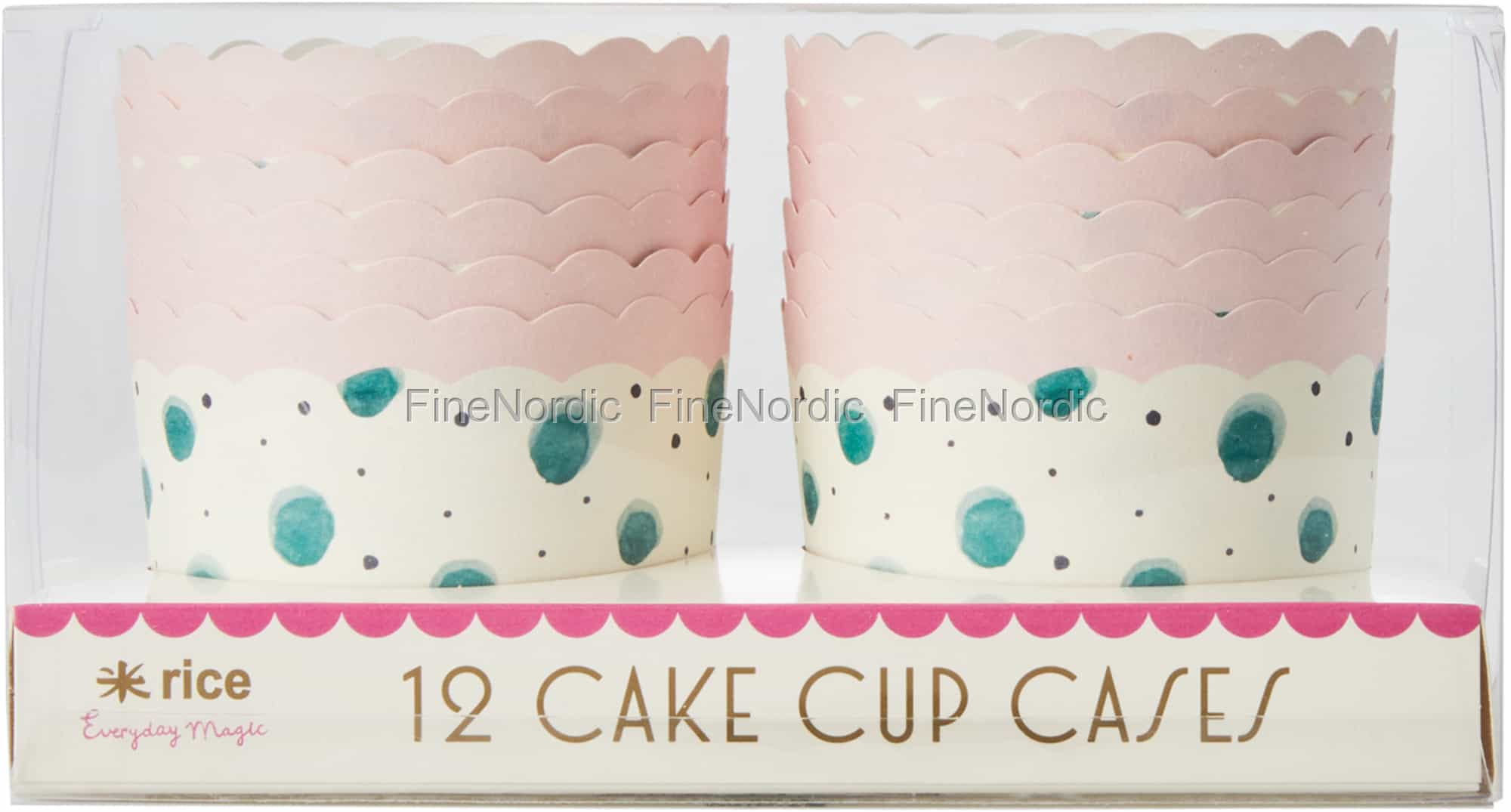 photo relating to Printable Cake Paper titled Rice Paper Cup Cake Cups in just Diversified Watercolor Splash Print - Inexperienced