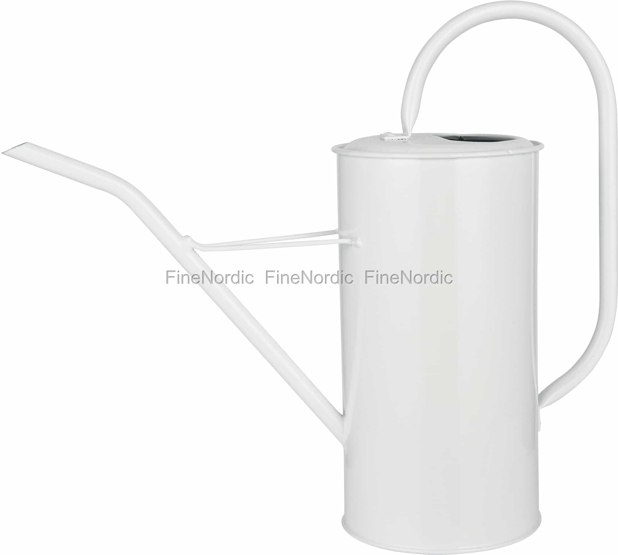 Ib Laursen Watering Can White 2 7 Liters