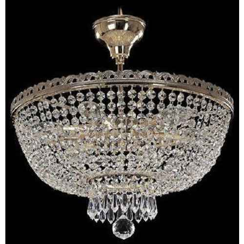 crystal chandelier with 6 lights silver finish swarovski crystal - Swarovski Crystal Chandelier