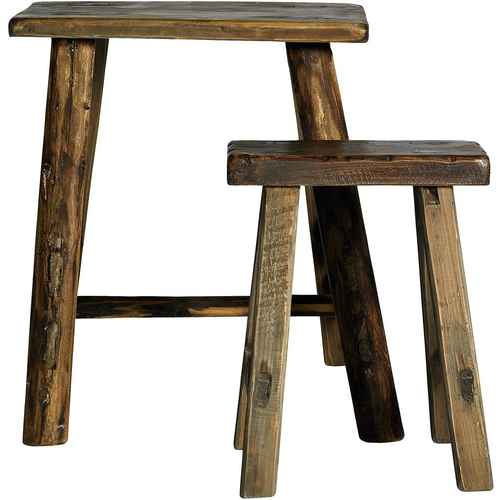 Nordal RAW Stool - Set of 2  sc 1 st  FineNordic & Benches u0026 Stools - Find a beautiful Bench or Stool here islam-shia.org