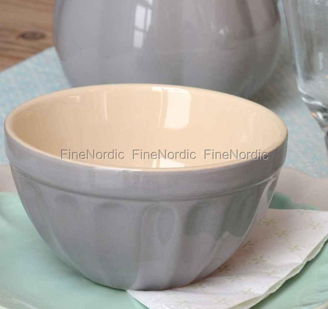 Oppdatert Ib Laursen Grey Müsli Bowl - Mynte French Grey UX-48